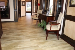 Commercial Flooring for The Keyes Company Waiting Area