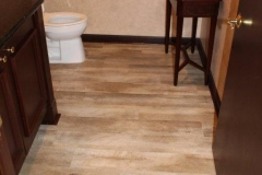 Commercial Flooring for The Keyes Company Bathroom