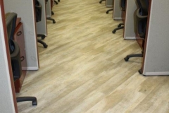Commercial Flooring for The Keyes Company Cubicle Area