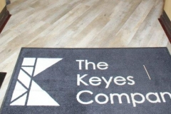 Commercial Flooring for The Keyes Company Entryway