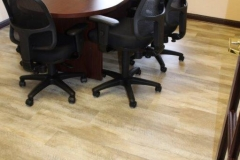 Commercial Flooring for The Keyes Company Small Conference Room